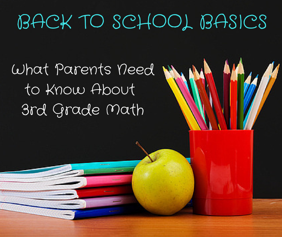 Back to School Basics: What Parents Need to Know about 3rd Grade Math