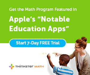 Thinkster Math - Featured in the app store